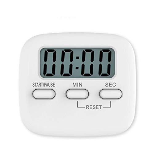 WWWANG Temporizador, el aprendizaje del estudiante cocina recordatorio hornear temporizador de cuenta atrás con el soporte telescópico de alarma alto y respaldo magnético Almacenamiento pequeño, práct