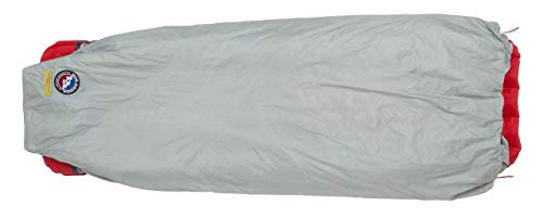 Big Agnes Kings Canyon Ultralight Synthetic Quilt for Backpacking and Camping, Gray/Palm