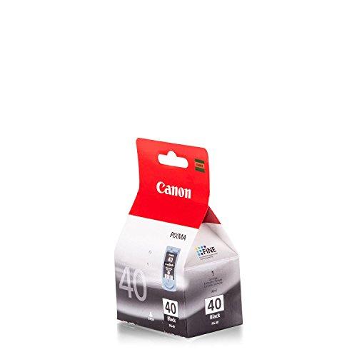 Original Canon 0615B001 / PG-40, für Pixma IP 1100 Premium Drucker-Patrone, Schwarz, 329 Seiten, 16 ml