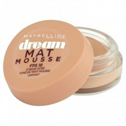 Maybelline New York Unisex Mouse Foundation 1 MAYBELLINE Dream Matte Base Mousse 010 Elfenbein BEIGE CLARO Blister 1UN, Negro, Standard