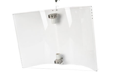 Adjust-defender blanc 2 x large réflecteur a-wings suivant grow pour lampe nDL