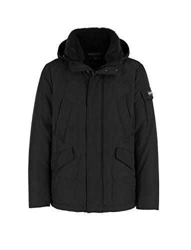 WOOLRICH Giubbino Uomo wocps 2603 Blk Black Blizzard Field Jacket Piumino FW 17/18
