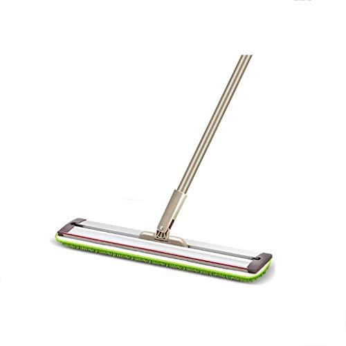 STRAW Sistema de limpieza de piso con trapeador de microfibra - Almohadillas lavables Limpiador perfecto for madera dura, laminado y azulejo - 360 trapeadores de polvo reutilizables, húmedos y secos c
