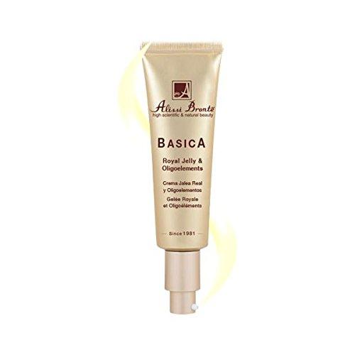 Basica Crème Hydratante de traitement à la Gelée Royale et aux oligo-éléments 50 ml et taille voyage 20 ml