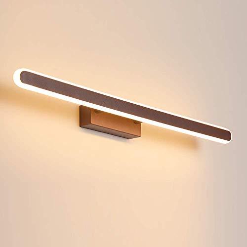 Brown LED Bath Mirror wandlamp badkamer verlichting metaal en acryl make-up kast decoratie kaptafel hal hotel waterdicht IP44