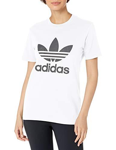 adidas Originals,womens,Trefoil Tee,White,Large