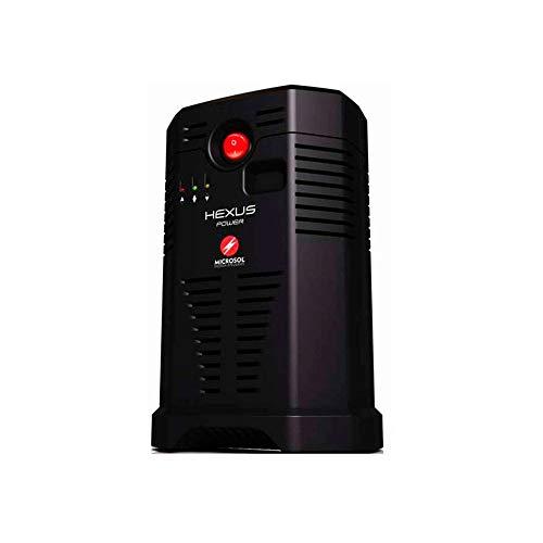 Estabilizador Microsol Hexus 500va Bivolt (HEXUS500BI BASICO)