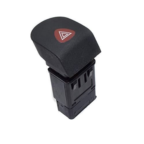 XUNGED Botón de emergencia del coche que destellan luz intermitente de advertencia Fit interruptor for Renault Kangoo Furgón MPV caja 7700308821 5768045