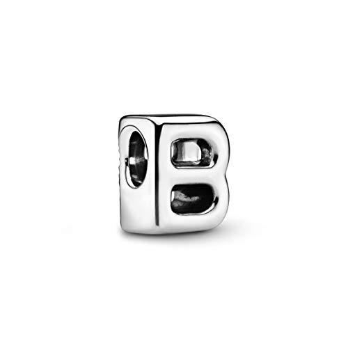 Pandora B silver charm