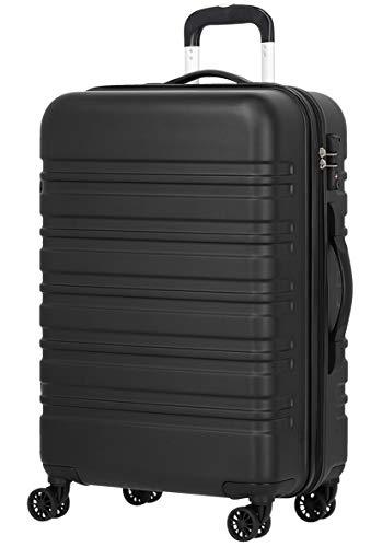 [luckypanda(ラッキーパンダ)] TY8098 スーツケース 機内持込 キャリーケース キャリーバッグ 機内持ち込み 小型 ファスナー 傷が目立ちにくい TSAロック ハード キャリー sサイズ 黒 ブラック