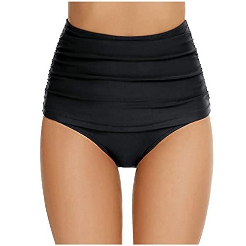AMhomely Women Swimsuit Shorts Tankini Swim Briefs Plus Size Bottom Boardshort Swim Short UK Size Sale S-5XL