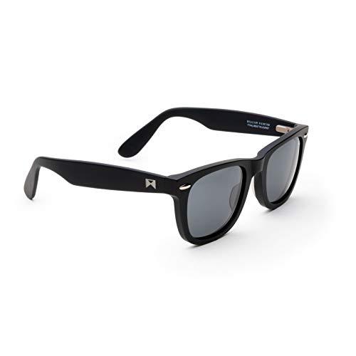 William Painter The Sloan Black Titanium Sunglasses for Men and Women