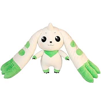 Anime Digimon Plush Kawaii Stuffed Big Ear Terriermon Doll Plush Toy Gifts for Boys Girls Children s Day Gift 35cm White