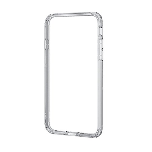 エレコム iPhone 8 ケース カバー バンパー ハイブリッド素材 対衝撃×透明 【端子・ボタン回りまで保護する設計 / ストラップホール付き】 iPhone 7 対応 クリア PM-A17MHVBCR