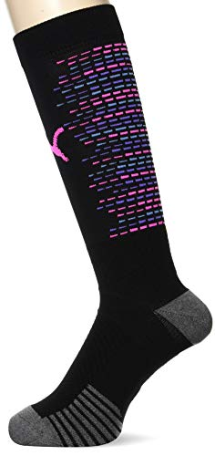 PUMA Team Ftblnxt Socks Calcetines Futbol, Hombre, Black/Luminous Pink, 4