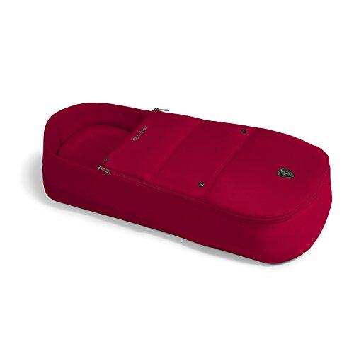 CYBEX Gold Soft-Babywanne Cocoon S Scuderia Ferrari, Für Kinder ab Geburt bis 6 Monate (9 kg), Racing Red