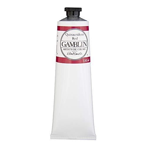 Gamblin Artist Oil, 150ml Tube, Quinacridone Red (2590)