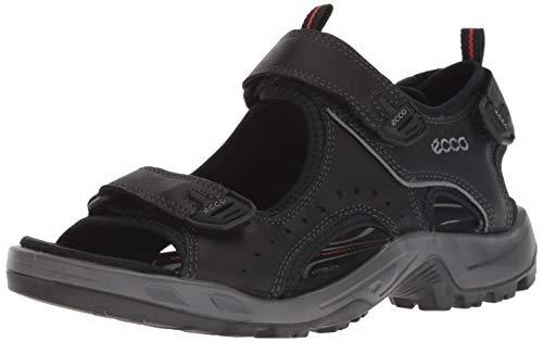 ECCO Herren OFFROAD Flat Sandal, Schwarz (BLACK), 43 EU