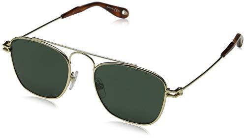 Givenchy GV 7055/S QT J5G 51 Occhiali da Sole, Oro (Gold/Green), Uomo