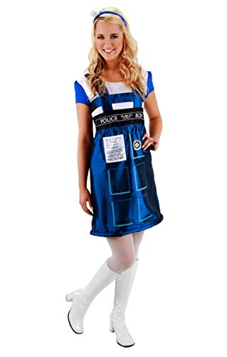 Doctor Who Tardis Dress Lg Xl by Halloween FX
