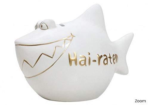 jakopabra Spardose Hai-raten/lustige Sparbüchse Hochzeit Hochzeitsgeschenk Geldgeschenk Hochzeit