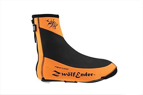 Zwölfender Classic Naranja cubrezapatillas, Talla:XXL