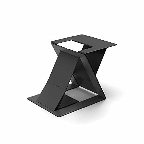MOFT Z ノートパソコンスタンド ノートPCスタンド PCデスクワークに対応 お手軽にスタンディングワークを実現 テレワークや在宅勤務に最適 折りたたみ 多角度調節 簡単に切替可能 (ブラック)