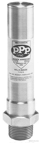 """PPP SC-1000, 1"""" NPT, Threaded Water Hammer Arrestor"""