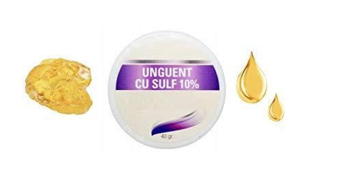 Sulfur/Sulphur Cream   for Seborrheic Skin, Psoriasis, Eczema, Acne, Dermatitis, Dry Skin   Soothes Irritated Skin   (40g)