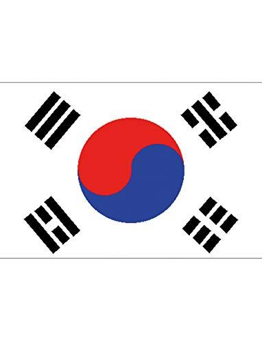 "TrendClub100® Fahne Flagge ""Südkorea South-Korea KR"" - 150x90 cm / 90x150cm"