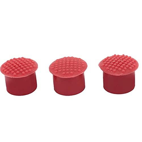 Reemplazo portátil Punto de pista Durable Silicona Point Point Point Durable Computer Stick Nipple Compatible para IBM/Lenovo ThinkPad Red 3PCS Instalación sin herramientas