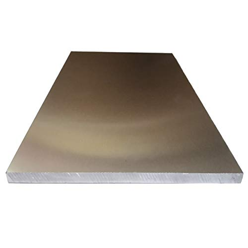 "AbbottoKaylan .315""Thickness 6""Width x12""Length Aluminum Sheet 6061-T6 Aluminum Tooling Flat Sheet Plate Bar Mill Stock"