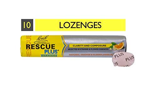 Rescue Plus Lozenge Orange And Elderflower By Rescue Plus