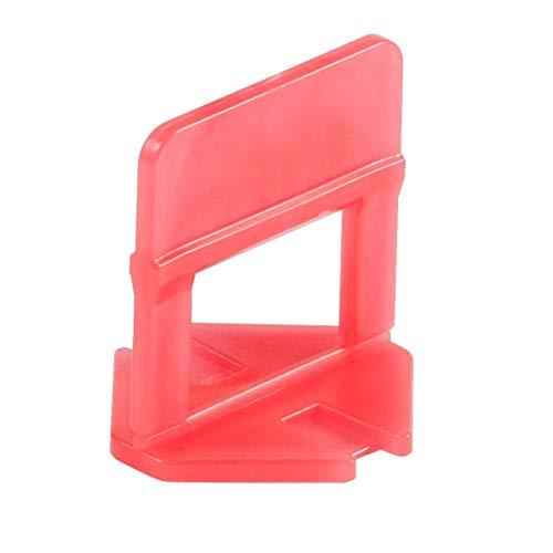 """Raimondi 1/8"""" Red Clip Tile Leveling System - 2000 Pcs Clips"""
