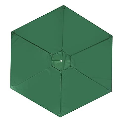 HMHMVM Parasol Cubierta de Paraguas Impermeable a Prueba de Agua voladizo al Aire Libre jardín Patio sombrilla Escudo 2M Tela Oxford Refugio Solar