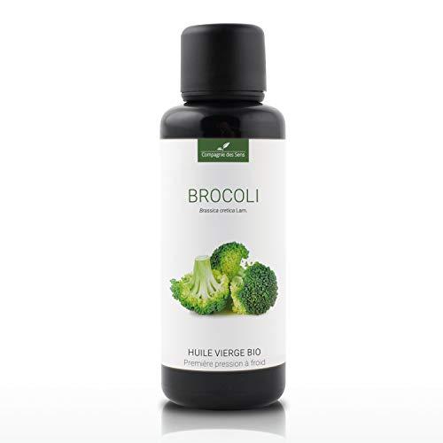 BROCOLI - 50mL - Huile Végétale Certifiée BIO, garantie vierge et de première pression à froid - Aromathérapie - La Compagnie des Sens