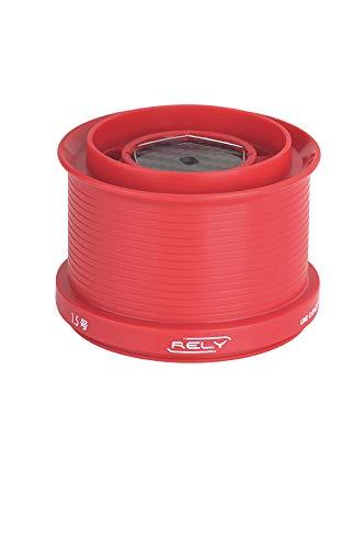 Rely Bobina de Repuesto ul Color Rojo para carretes akami Shimano de teflón (Red)