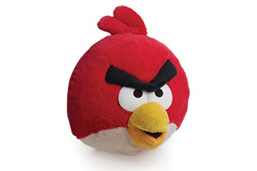 Angry Birds Red Bird Soft Plush Cuddly Toy, Red, 8 Inch