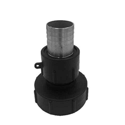 Sharplace Connecteurs D'adaptateur De Réservoir D'eau IBC En Plastique - 45MM