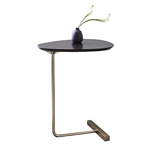 Table Side Table Coffee Table Black for Coffee Laptop