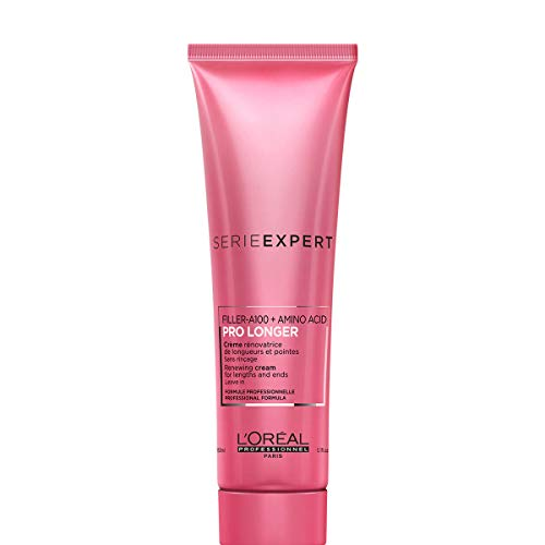 L'Oréal Professionnel Serie Expert Pro Longer Leave-In, Anti-Haarbruch Haarcreme & Hitzeschutz für glänzende Haare und geschmeidige Spitzen, 150 ml
