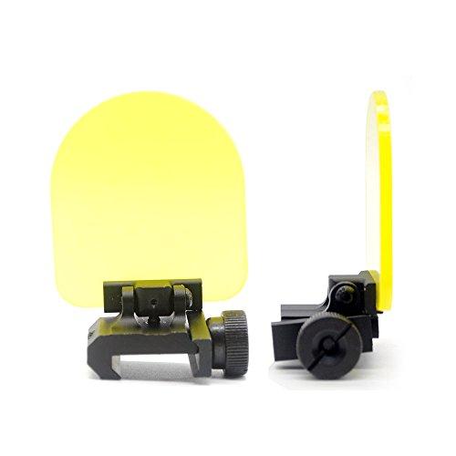 TRIROCK Sports Lens Protector Set para Tactical Sight Scope y 20mm QD Rail Mount