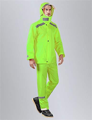 Z-Leah waterdichte regenjas, sportieve stijl, hoge broek, groeiruimte, geschikt voor alle soorten werkzaamheden.