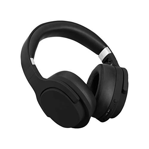 ISY - ANC Bluetooth Headphone - Kopfhörer mit Aktive Noise Cancelling, Bluetooth 5.0, klappbar, bis zu 25 Std. Laufzeit, schwarz