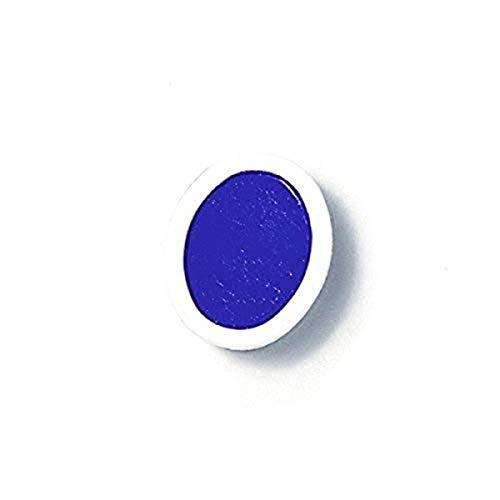 PRANG Refill Pans for Oval Watercolor Paint Set, 12 Pans per Box, Blue (00805)