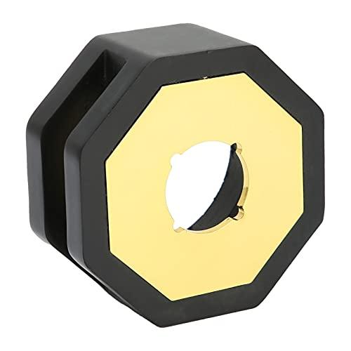 Gmkjh Calentador de Sellos de Cera, Calentador de Estufa con Sello de Cera de Estilo Retro, Varillas de fusión octangulares, Herramienta de Horno para Hacer Cera(Negro)
