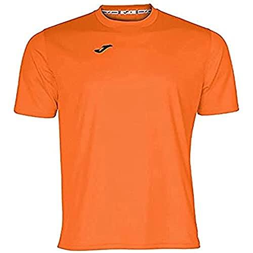 Joma Combi Camiseta Manga Corta, Hombre, Naranja, M
