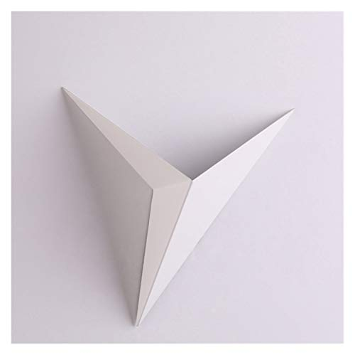 YZZ Moderno Minimalista triángulo Forma Lámparas de Pared Lámparas de Pared de Estilo nórdico Lámparas de Pared de Interior Lámparas de Sala 3W AC85-265V Luz Blanca cálida Iluminación Simple