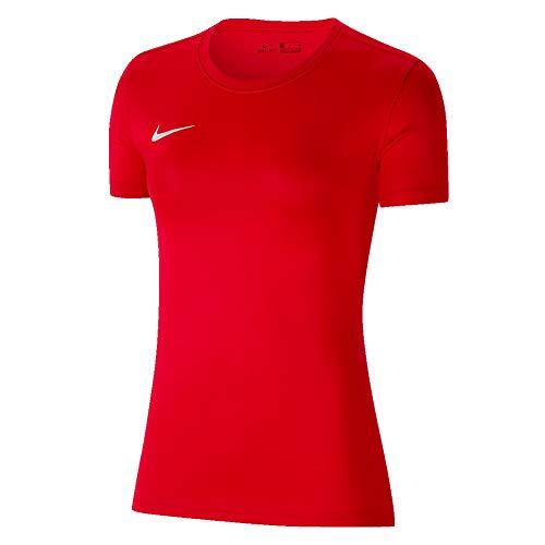 Nike Damen Women's Park Vii Jersey Short Sleeve T-Shirt, Rot, XL, BV6728