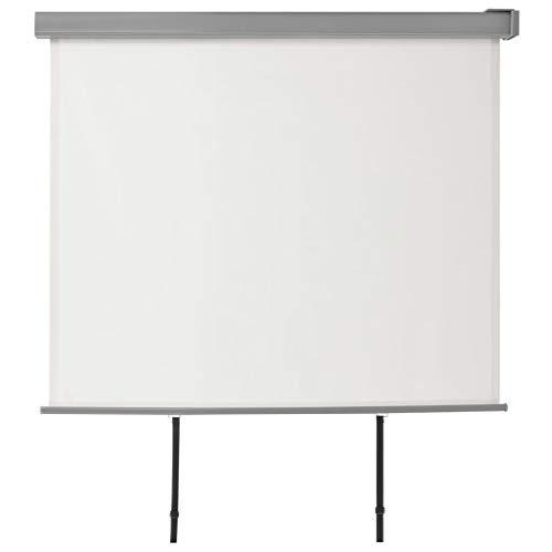 yorten Balkon-Seitenmarkise Multifunktional Seitenwandmarkise Windschutz Sonnenschutz 200 x 150 cm 180 g/m² Creme